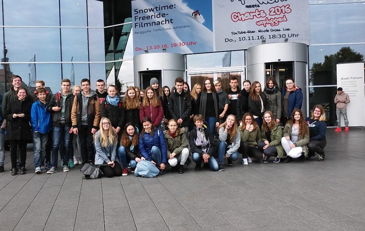 25 października 2016 – 20-lecie wymiany uczniowskiej z Crailsheim