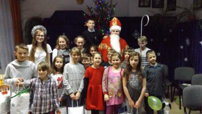 21 grudnia 2016 – Spotkanie opłatkowe dla dzieci z Wioski Dziecięcej SOS w Biłgoraju