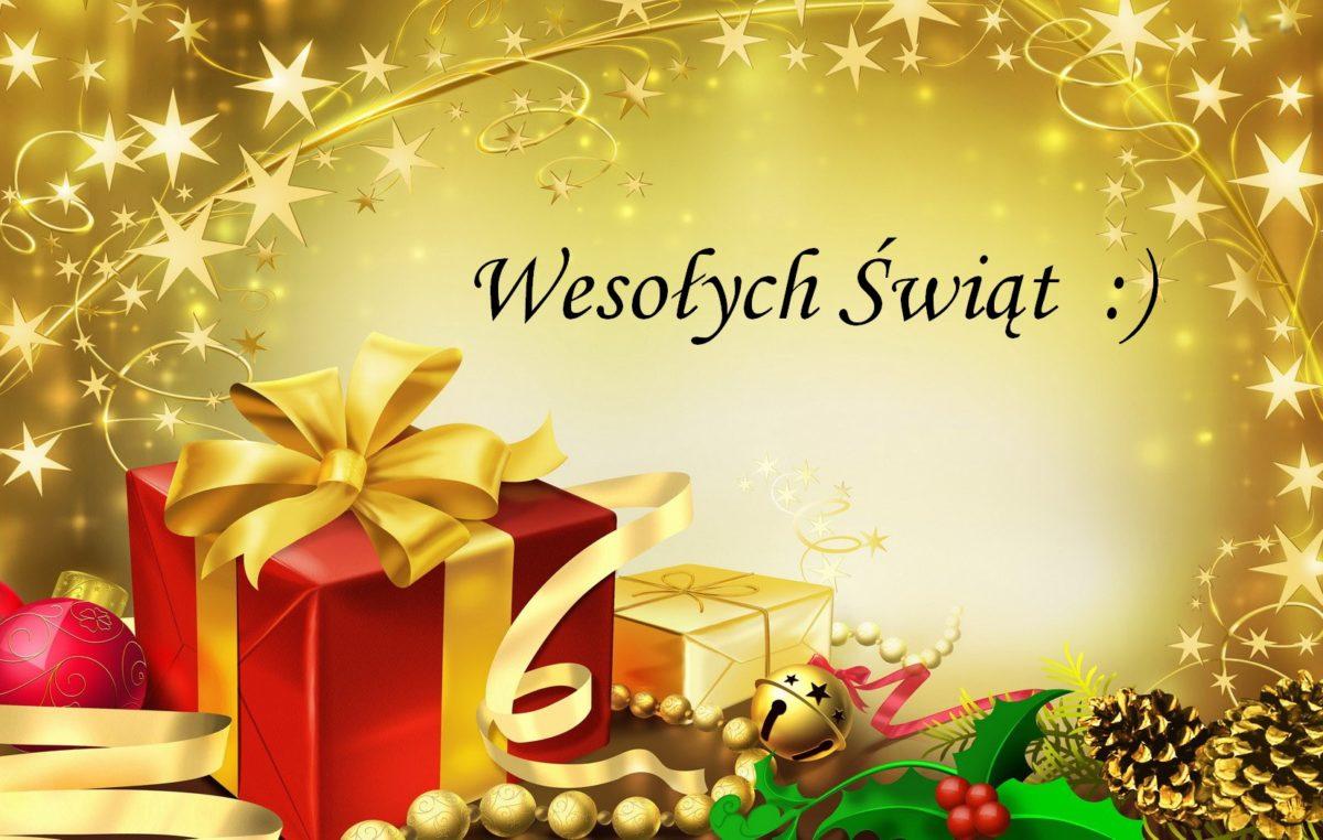 22 grudnia 2016 – Wesołych Świąt!