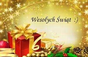 24 grudnia 2018 – Wesołych Świąt