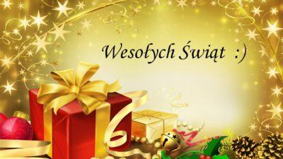 22 grudnia 2017 – Wesołych Świąt