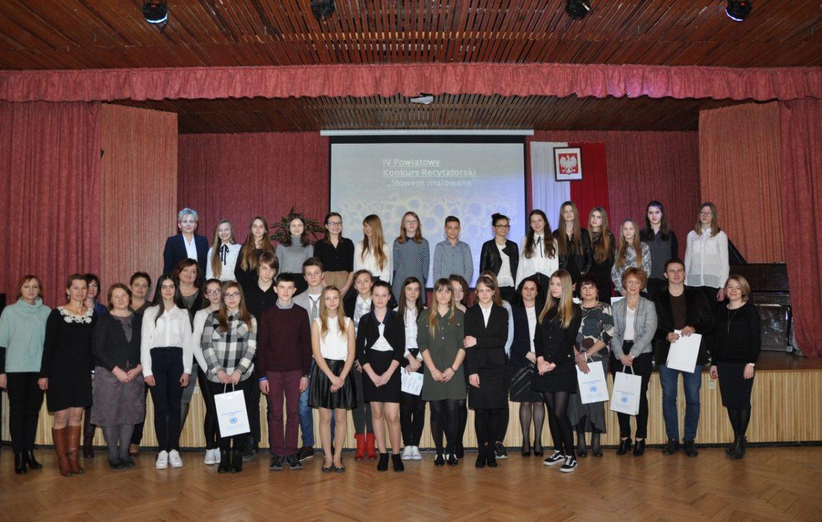 17 marca 2017 – Powiatowe sukcesy młodych recytatorów i literatów