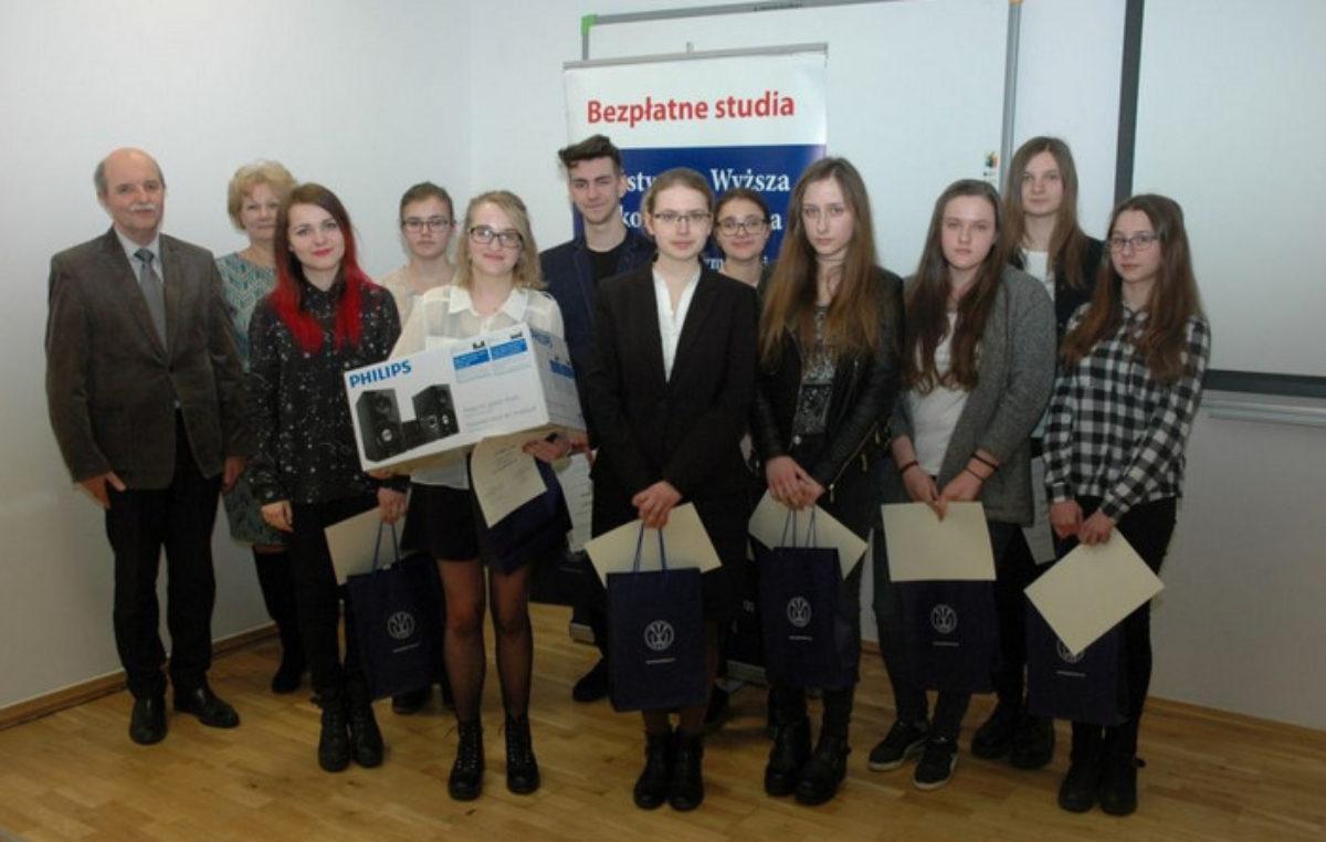 15 marca 2017 – Laureaci i finaliści Zamojskiego Dyktanda
