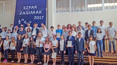 """21 czerwca 2017 – Laureaci """"ZAGIMAKA"""""""