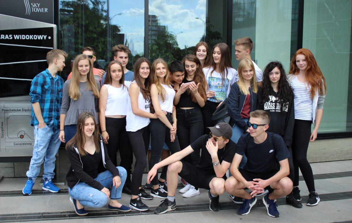24 czerwca 2017 – Wycieczka klas I D i I J do Wrocławia