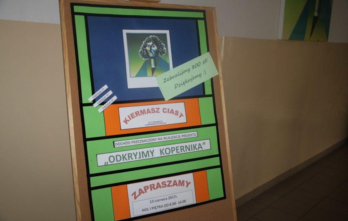 """16 czerwca 2017 – Kiermasz """"Odkryjmy Kopernika"""" – wyniki"""