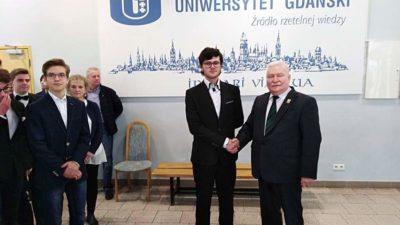 29 listopada 2017 – Licealiści w finale Olimpiady Noblowskiej