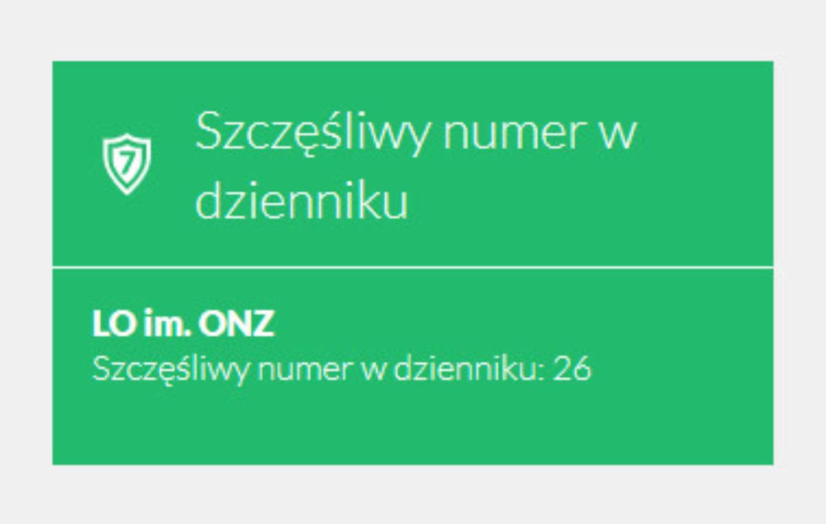 """2 listopada 2017 – """"Szczęśliwy numerek"""""""