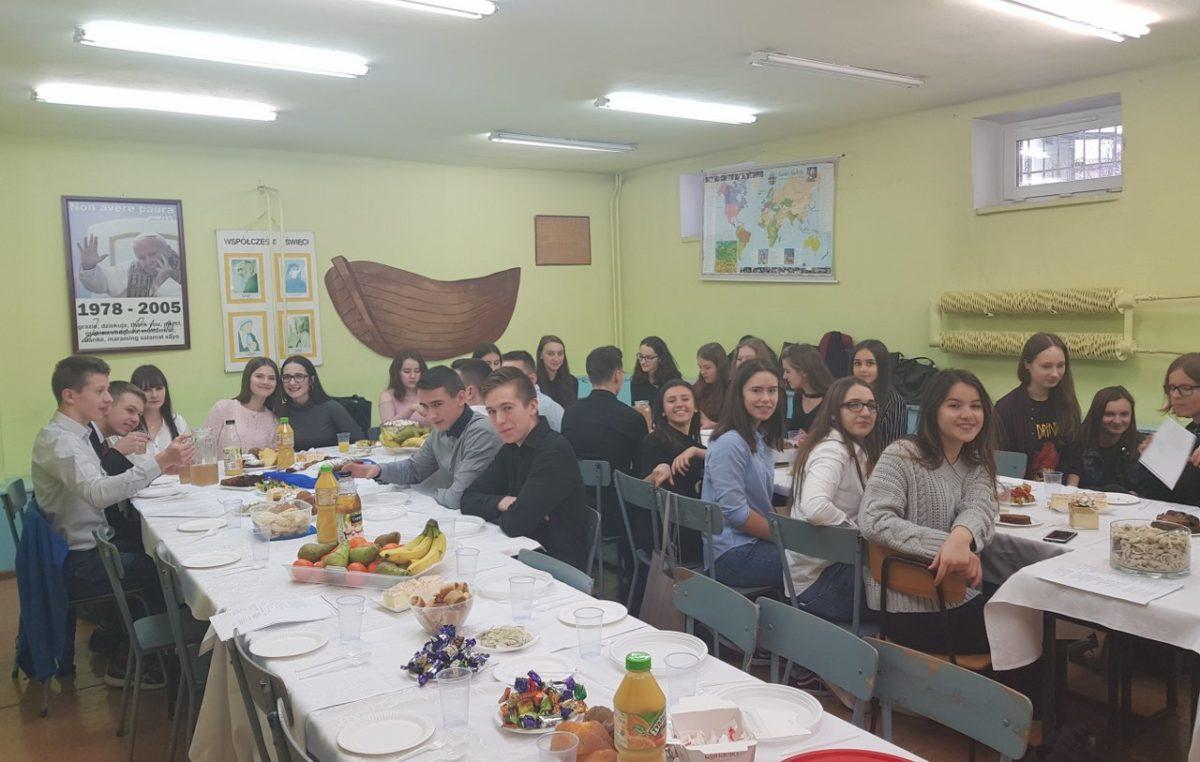 22 grudnia 2017 – Wigilia klasowa II j