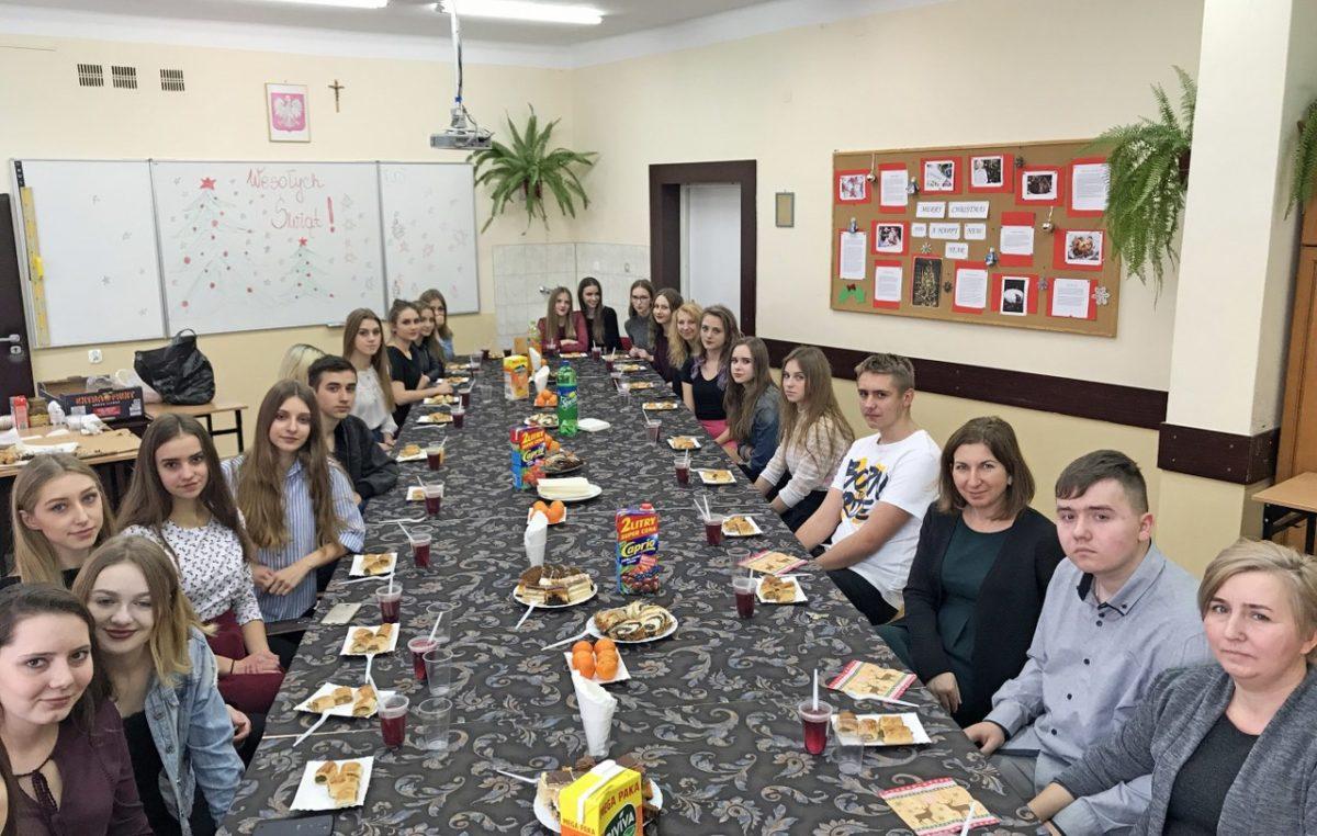 21 grudnia 2017 – Wigilia klasy I D