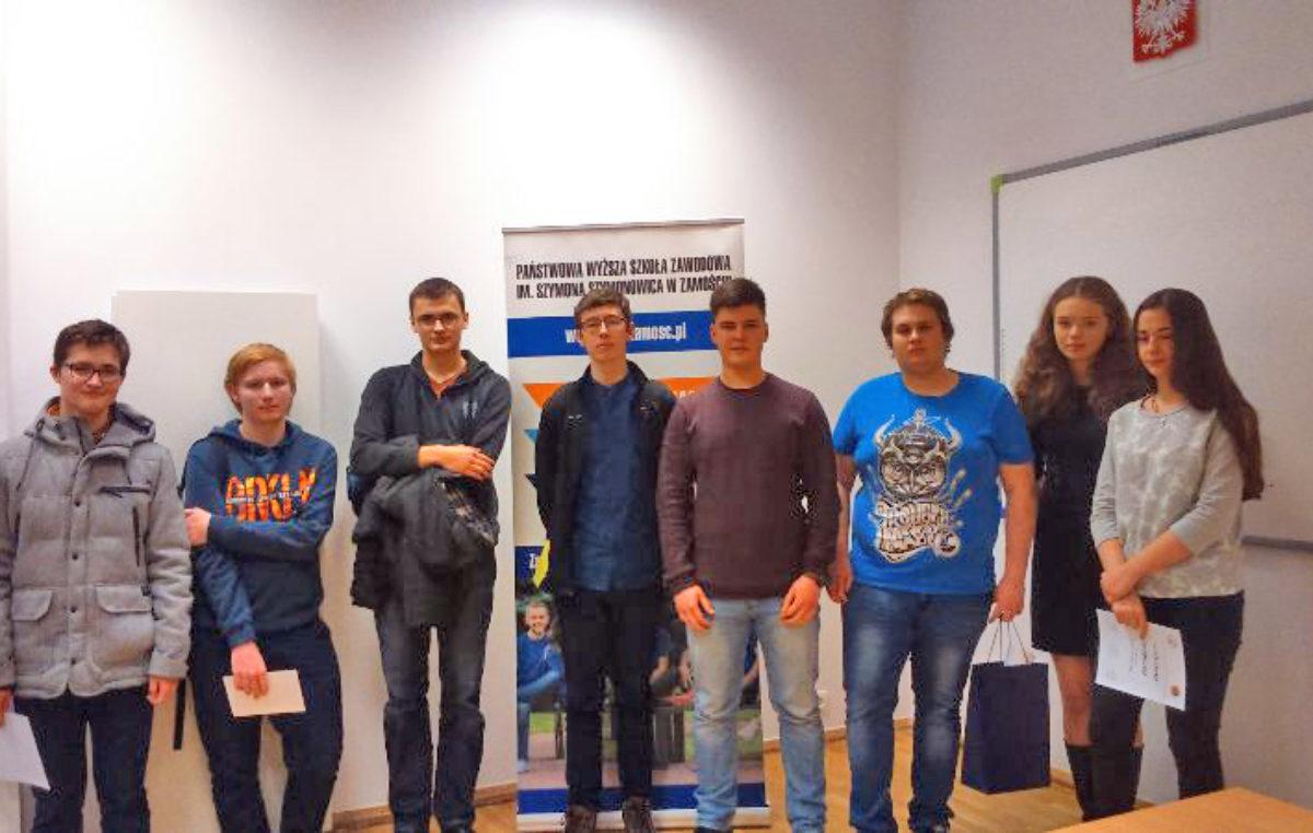 24 stycznia 2018 – Sukcesy w finale Konkursu Matematycznego