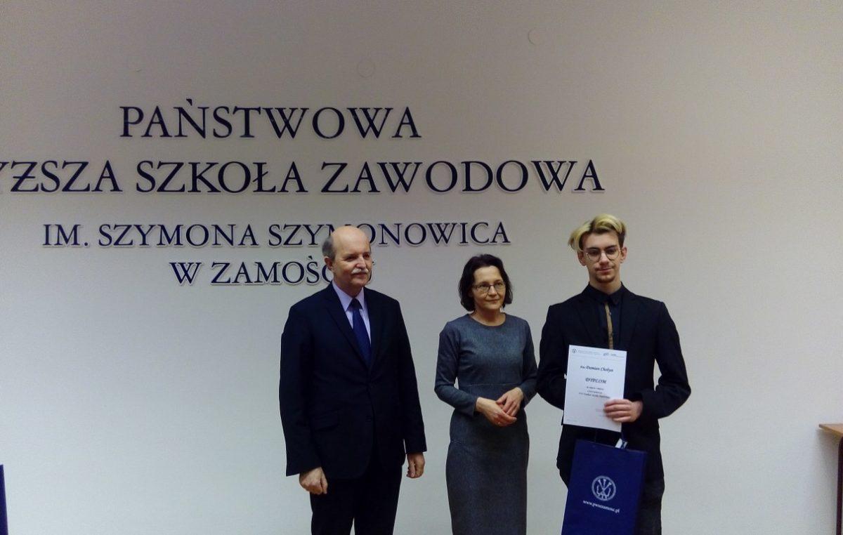 2 marca 2018 – Damian Chołyst zwycięzcą VIII Konkursu Języka Angielskiego