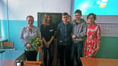 20 marca 2018 – Wizyta pracowników lubelskiego  IPN – u w naszej szkole