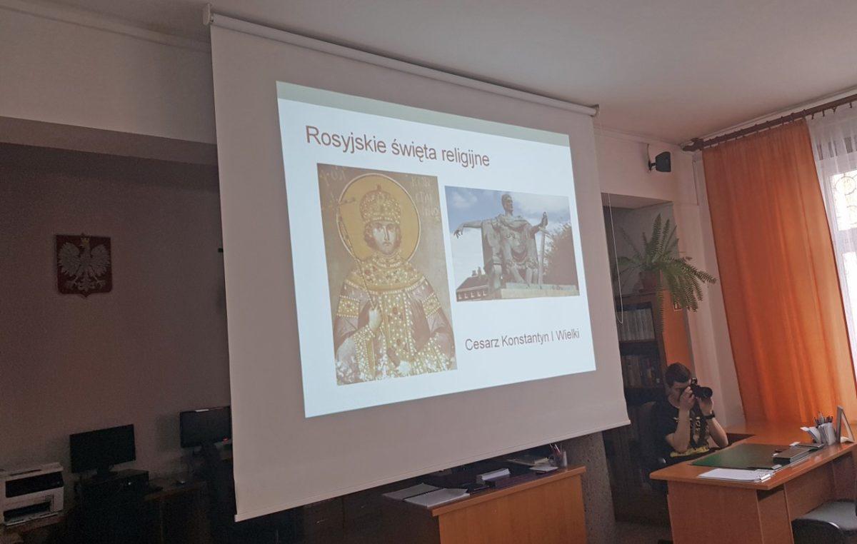6 kwietnia 2018 – Wykład z języka rosyjskiego