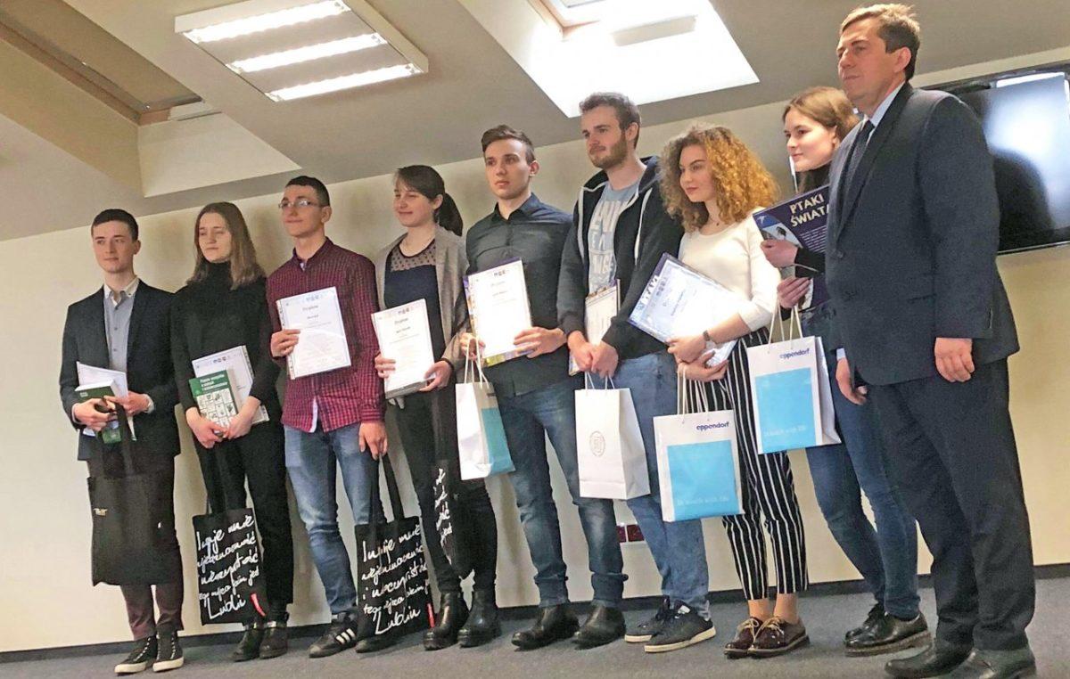 4 kwietnia 2018 – VI Konkurs Wiedzy Genetycznej Dla Uczniów Województwa Lubelskiego
