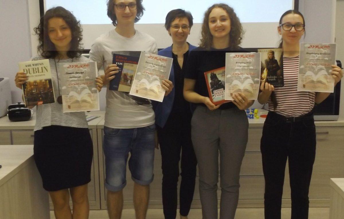 13 maja 2018 – Młodzi graficy najlepsi w wojewódzkim konkursie promującym czytelnictwo