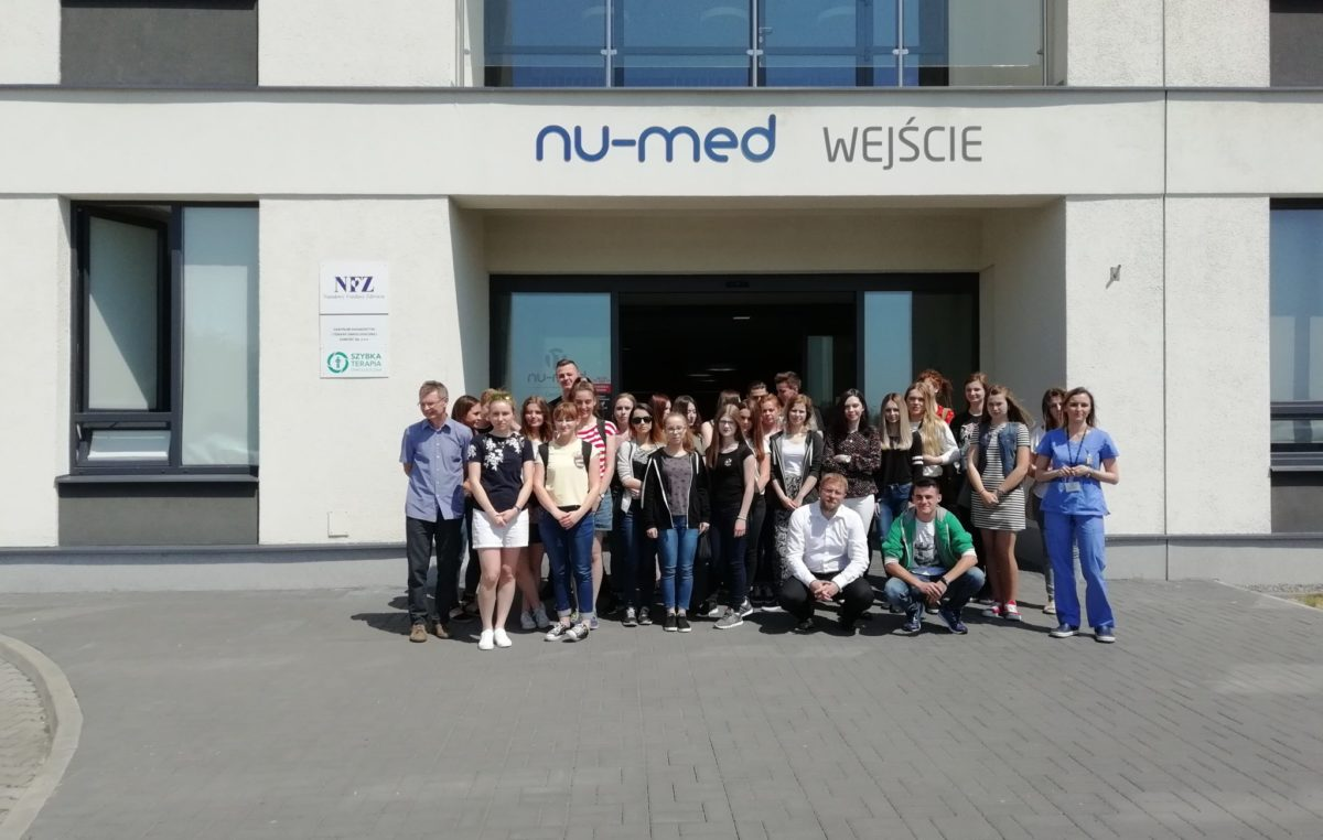 "15 maja 2018 – ""Medycy"" z II i w Centrum Nu-Med"