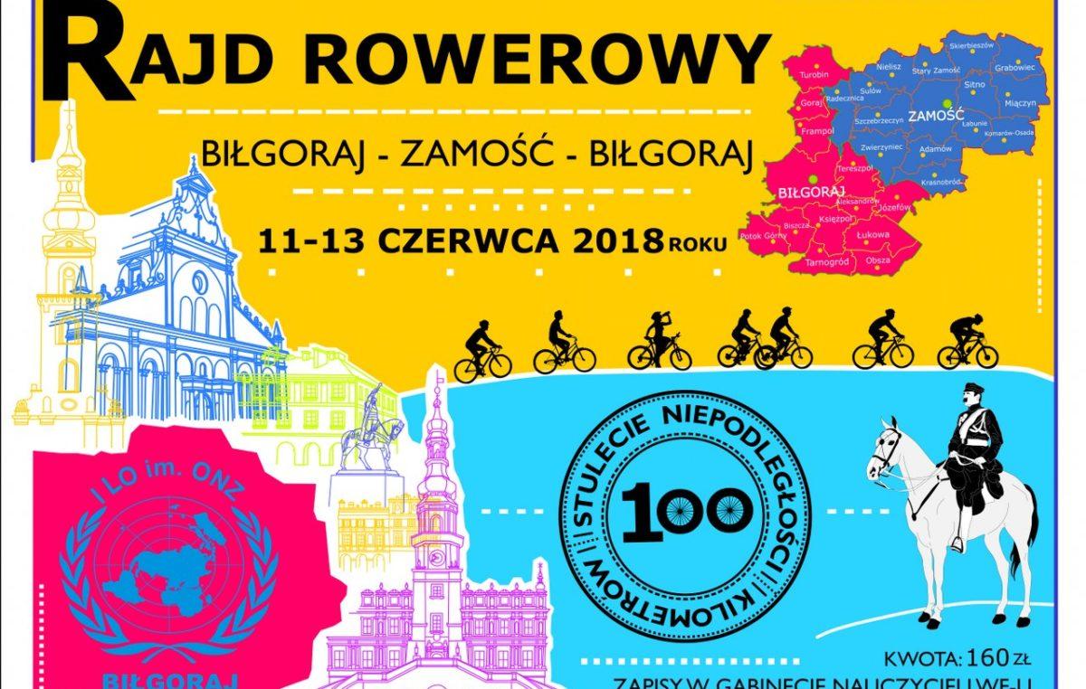 9 maja 2018 – Rajd rowerowy