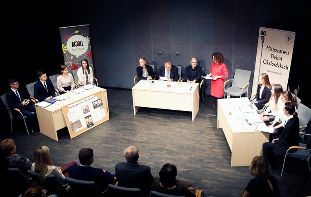 16 listopada 2018 – Awans naszej drużyny do finału Debaty Oxfordzkiej