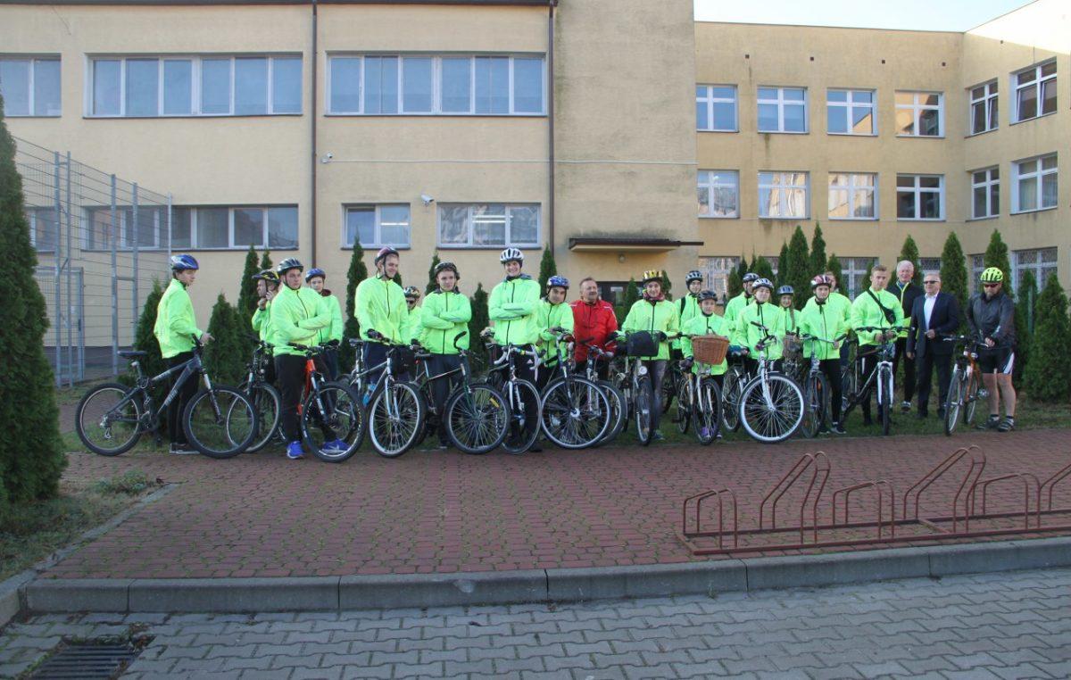 8 listopada 2018 – Rajd rowerowy z okazji 100-lecia Odzyskania Niepodległości