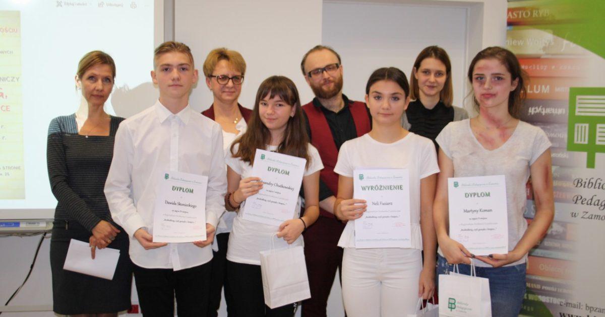 9 listopada 2018 – Sukcesy naszych uczennic w konkursie czytelniczym