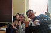 18 stycznia 2019 – Studenci z Indii i Peru w naszej szkole