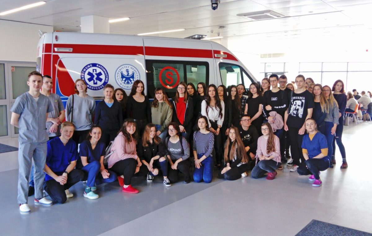 29 marca 2019 – Licealiści na Uniwersytecie Medycznym