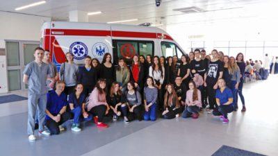 15 marca 2019 – Licealiści na Akademii Medycznej