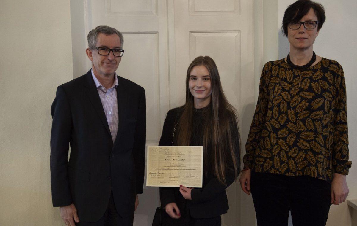 11 marca 2019 – Ola wywalczyła nagrodę główną – miesięczny pobyt w USA