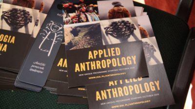 12 marca 2019 – Wykłady z zakresu antropologii
