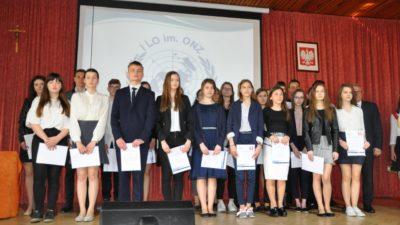 29 kwietnia 2019 – Stypendia Starosty Biłgorajskiego