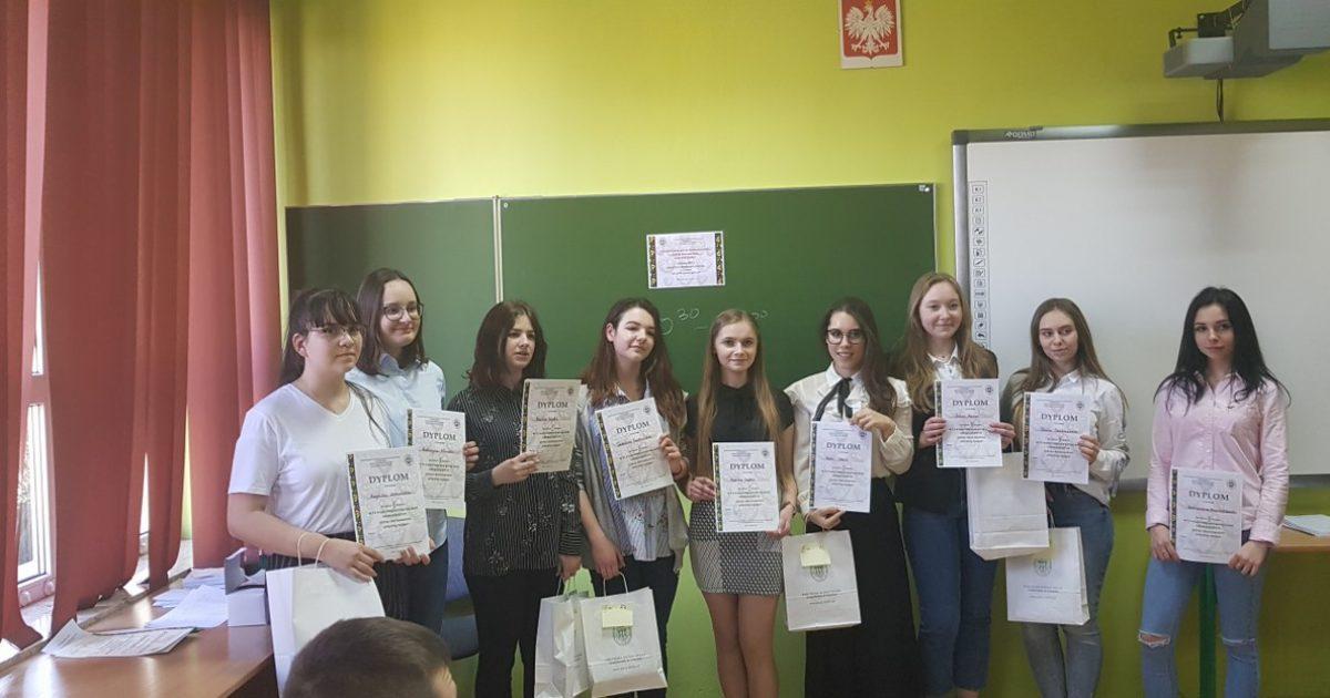 6 kwietnia 2019 – Monika Gąbka najlepsza w województwie z języka rosyjskiego