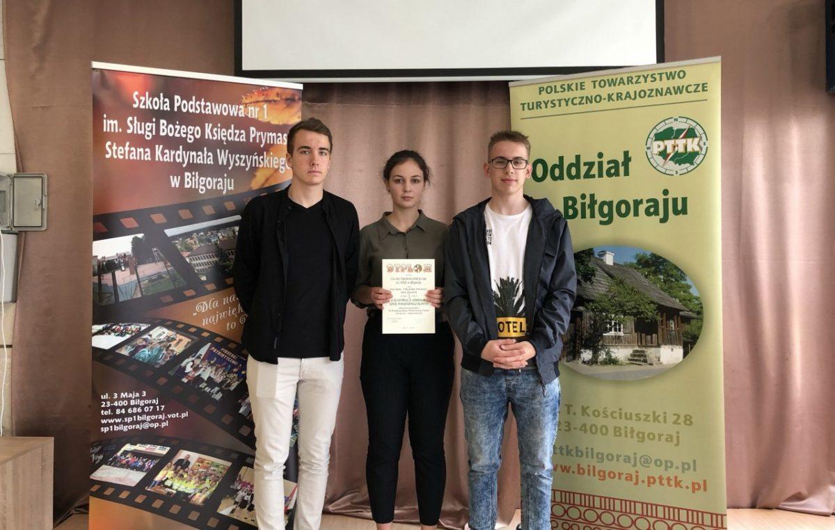 13 maja 2019 – Mistrzowie województwa wśród krajoznawców!