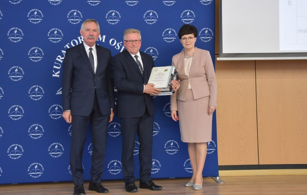6 czerwca 2019 – Lubelski Kurator Oświaty nagrodził laureatów konkursów