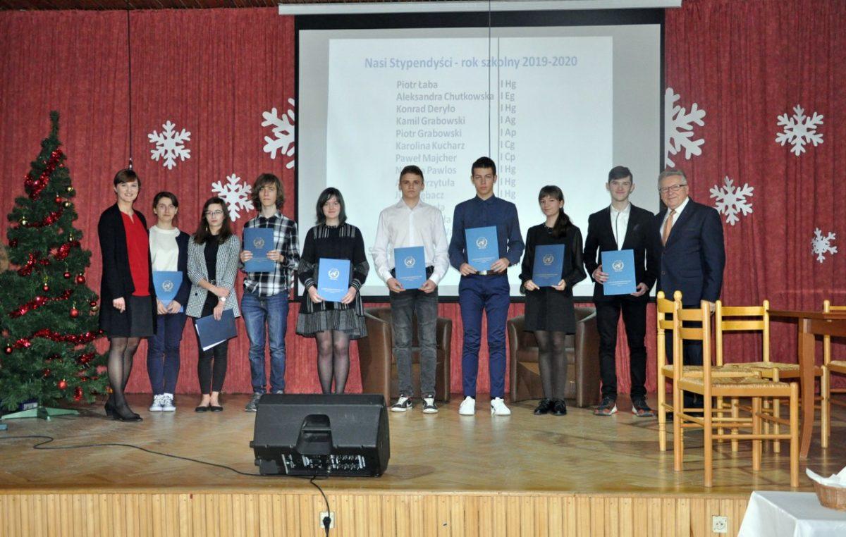 21 grudnia 2019 – Stypendia Starosty Biłgorajskiego