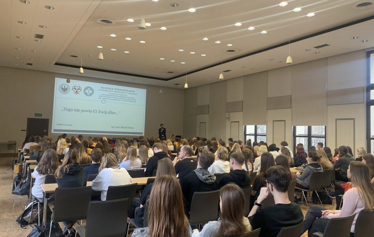 12 grudnia 2019 – Wykłady na Uniwersytecie Medycznym w Lublinie