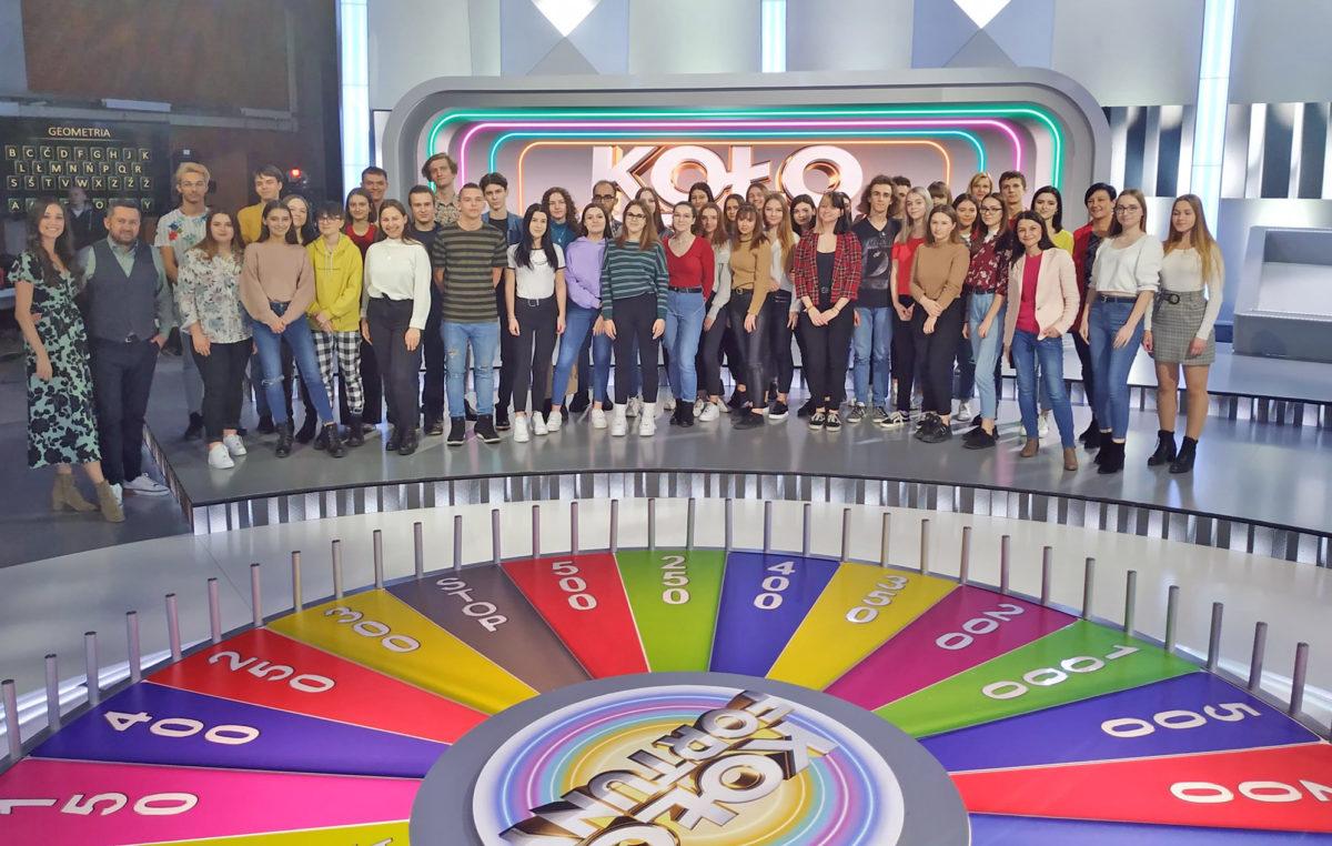 9 marca 2020 – Nasi uczniowie w studiu Telewizji Polskiej