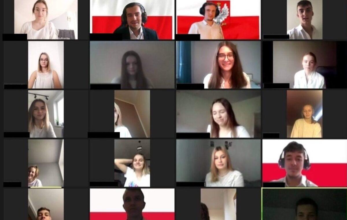 """11 listopada 2020 – Akcja """"Szkoła do hymnu"""""""