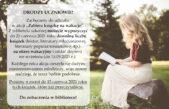 """10 czerwca 2021 – """"Zabierz książkę na wakacje"""""""