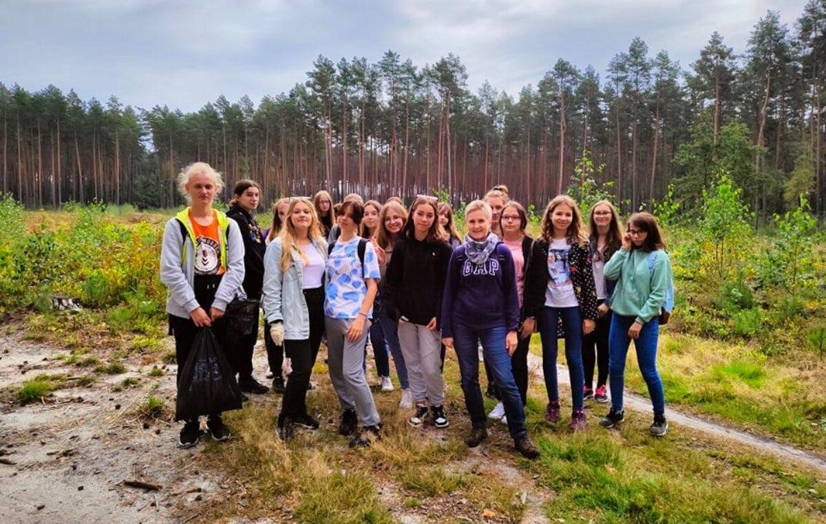 20 września 2021 – Licealiści po raz 28. sprzątali świat